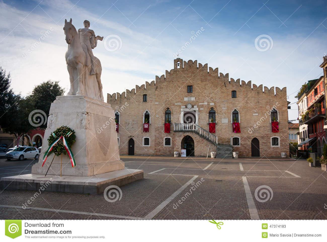 Portogruaro In Italia Immagine Stock.