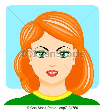 Portrait Clip Art.