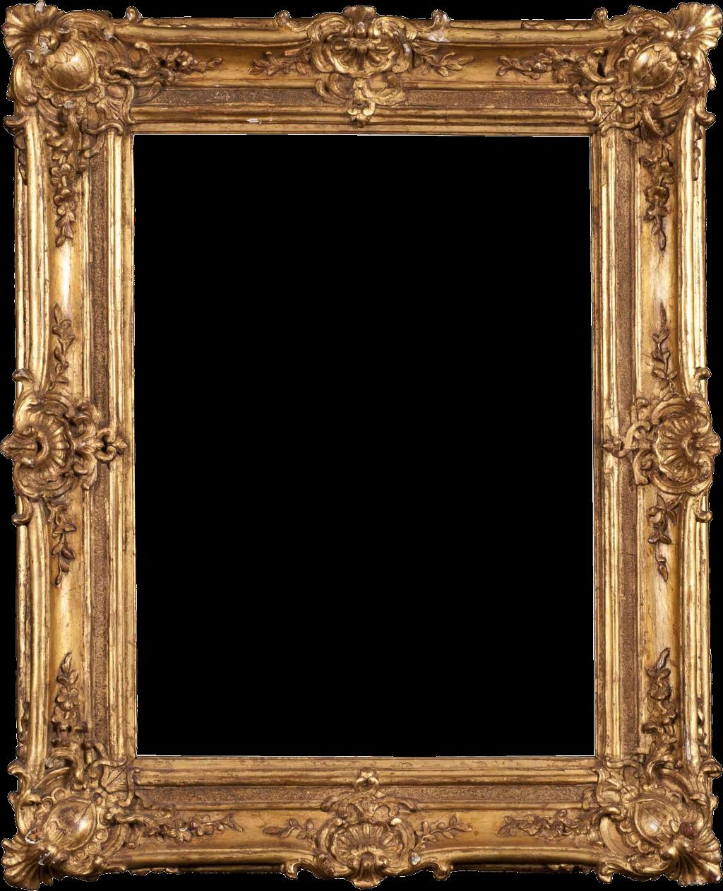 HD #sticker #remixit #png #portrait #frame #gold.