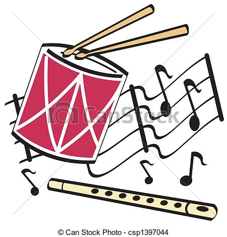 Snare Drum Clipart Black And White.