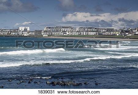 Stock Photography of Portrush, County Antrim, Ireland, North.