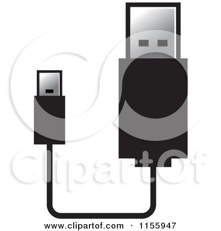 Usb port clip art.