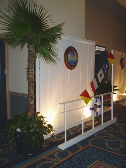 Ports of call on a cruise ship theme.complete with working.