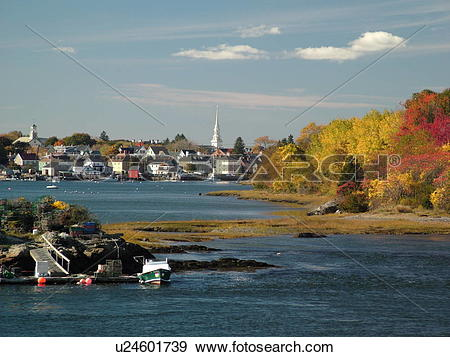 Stock Photograph of Portsmouth, NH, New Hampshire, Portsmouth.