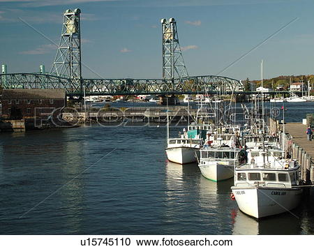 Stock Photography of Portsmouth, NH, New Hampshire, Portsmouth.