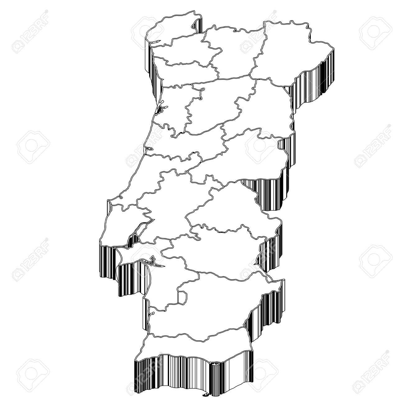 Portugal Portugal Map Royalty Free Cliparts, Vectors, And Stock.