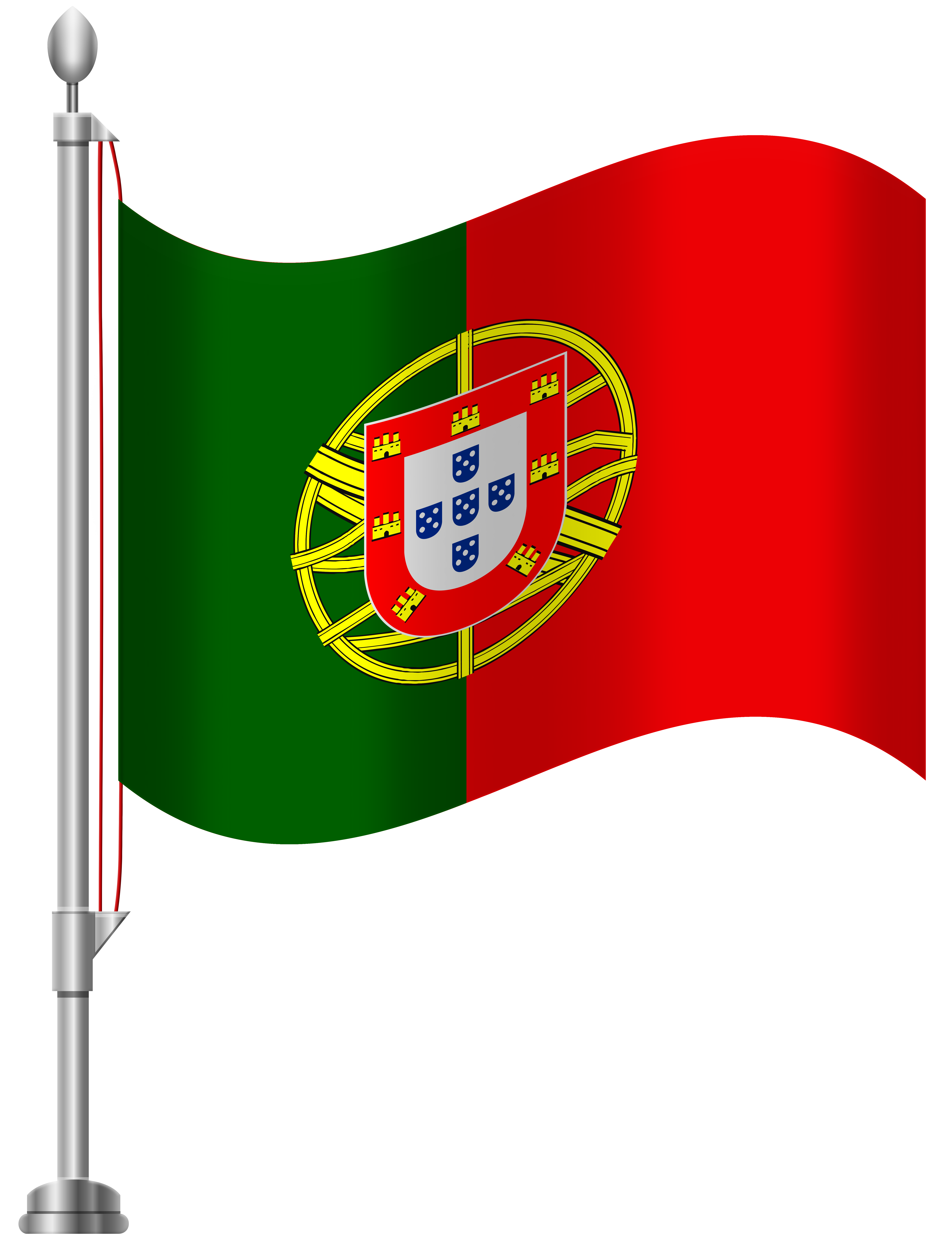 Portugal Flag PNG Clip Art.