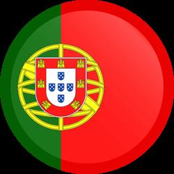 Portugal flag clipart.