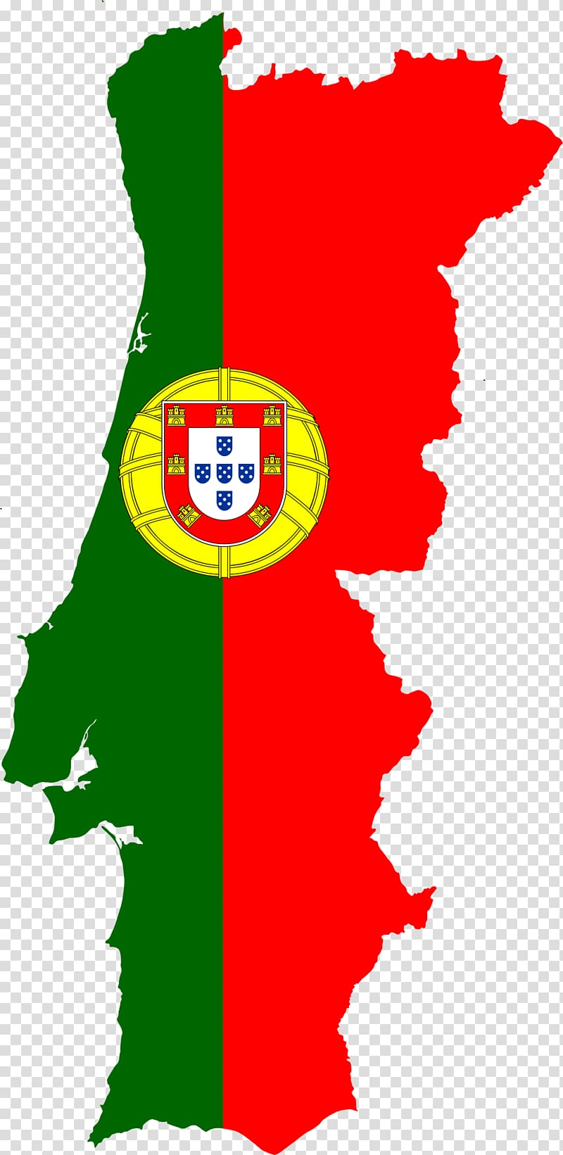 Red and green flag , Flag of Portugal Map National flag.