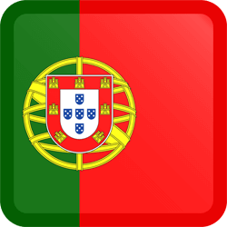 Portugal flag icon.