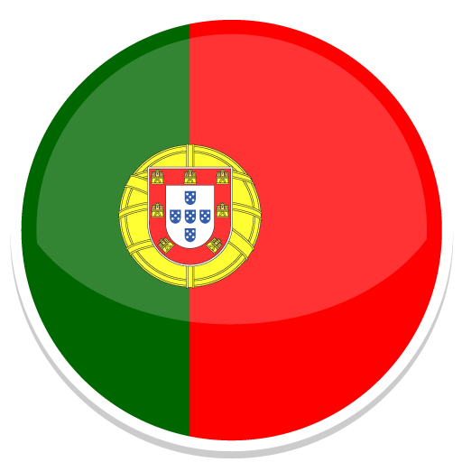 Portugal Icon Free of Round World Flags Icons.