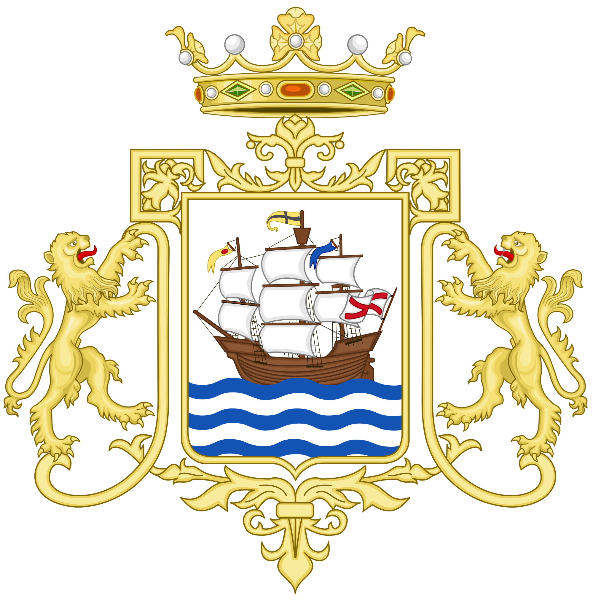 File:Coat of Arms of Portugalete.svg.