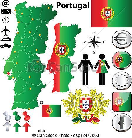 Lisbon portugal Vector Clipart Royalty Free. 415 Lisbon portugal.