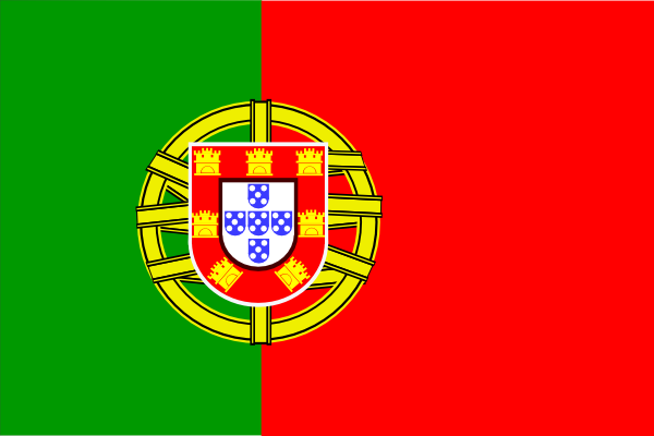 Flag Of Portugal clip art Free Vector / 4Vector.