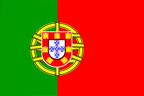 Flag Of Portugal clip art Free Vector / 4Vector.