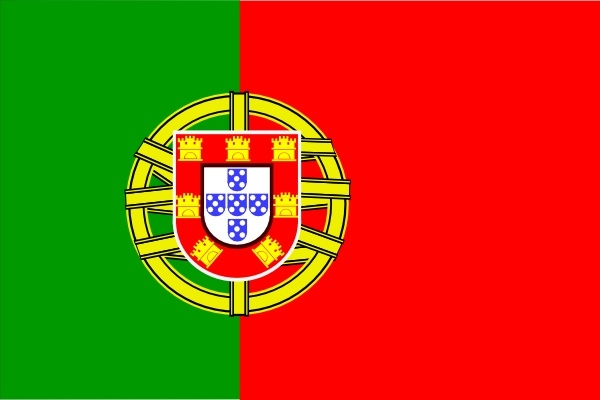 Flag Of Portugal clip art Free vector in Open office drawing svg.