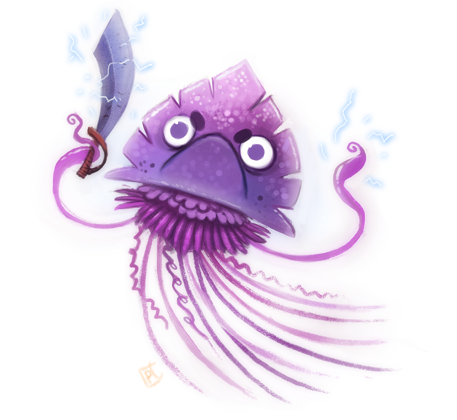 Day 682. Portuguese Man O' War by Cryptid.