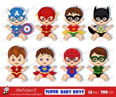 Supergirl Little Girl Digital Clip Art, Digital Superhero Clipart.