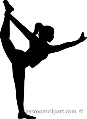 Yoga Pose Clipart.