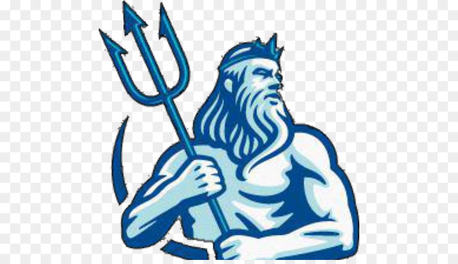 Poseidon Symbol clipart.