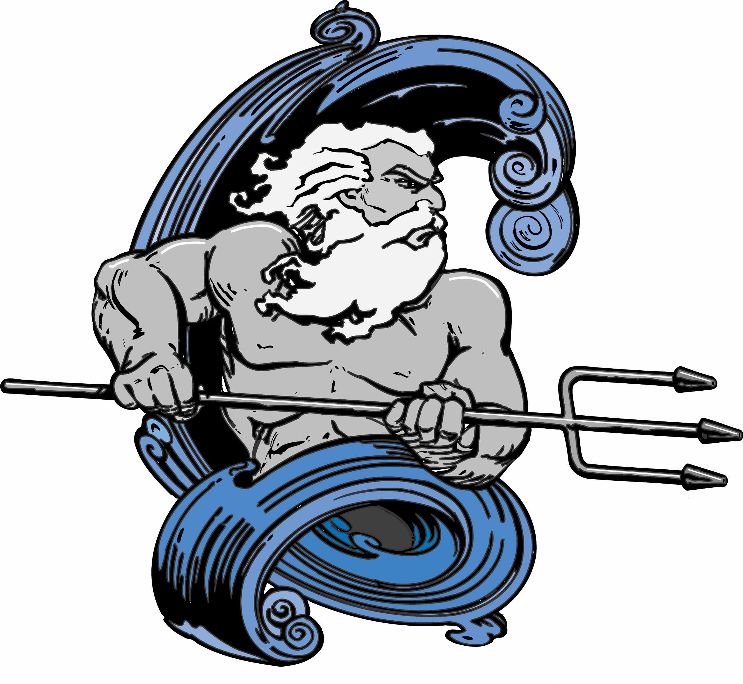 Poseidon Clipart.