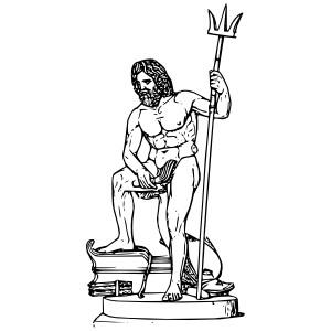 Poseidon Clip Art.