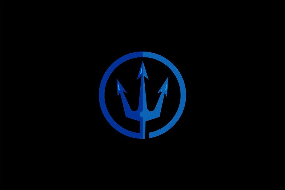 Poseidon Logo Template.