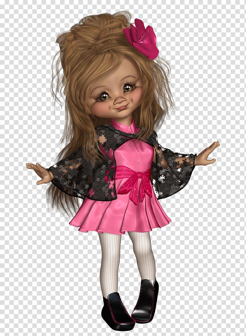 Barbie Toddler, Poser transparent background PNG clipart.