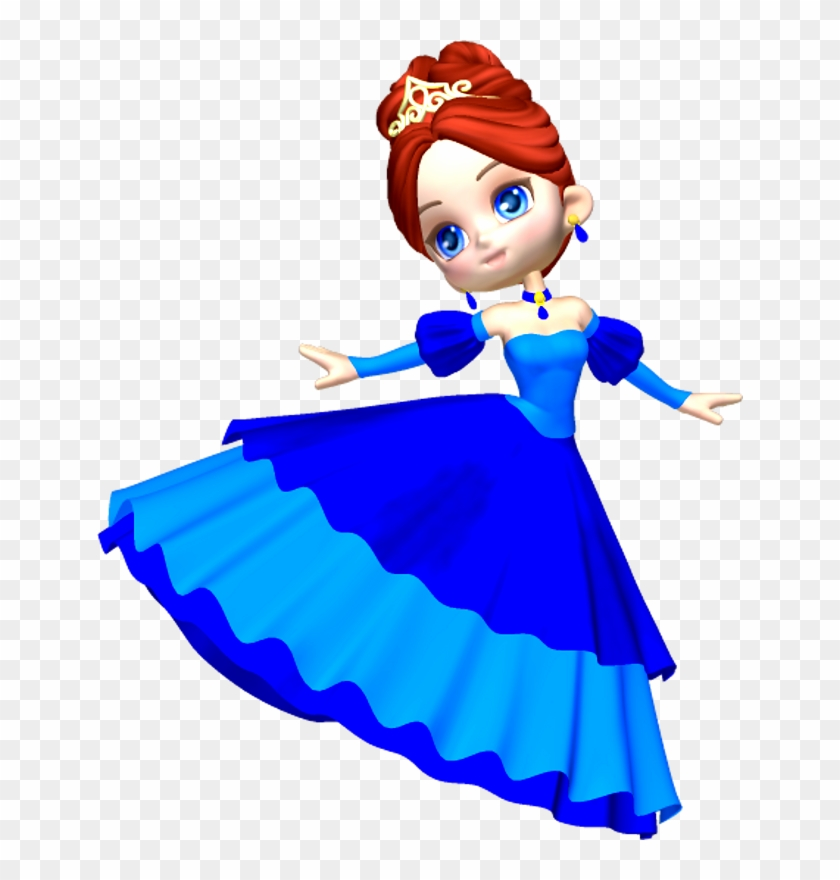 Clipart Png Princess In Blue Poser Png Clipart.