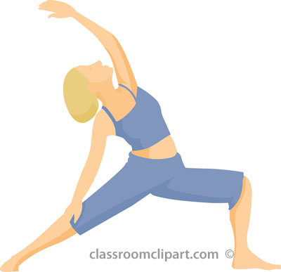 Yoga Pose Clipart.