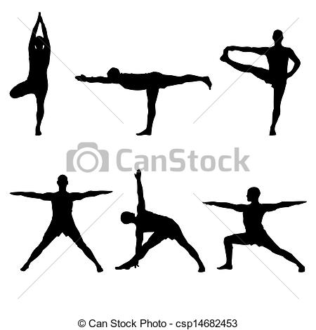 Poses cliparts.