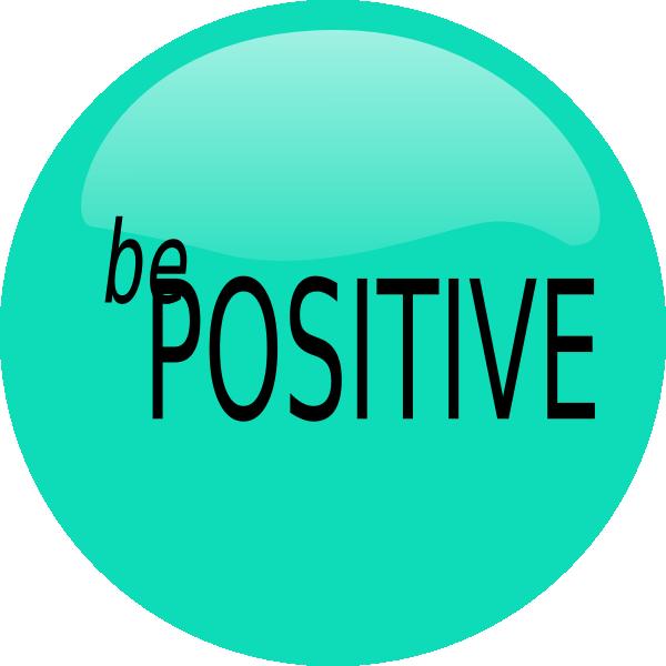 Be Positive Clip Art at Clker.com.