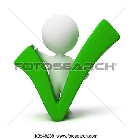 Clipart of positive or negative tri0011.