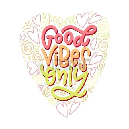 Positive clipart positive vibes, Positive positive vibes.