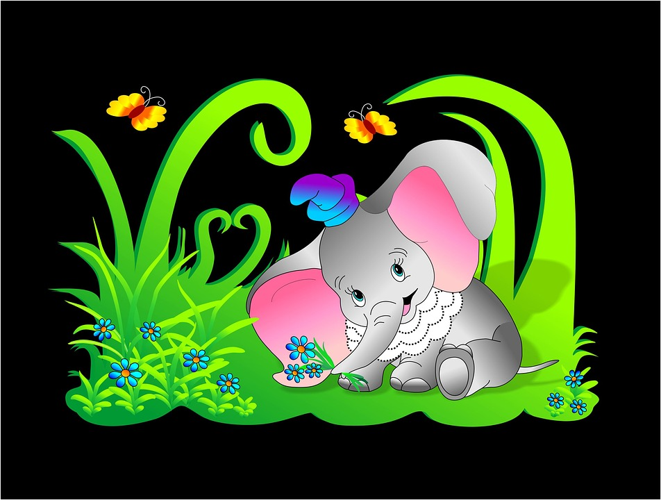 Free illustration: Elephant, Baby Elephant, Baby.