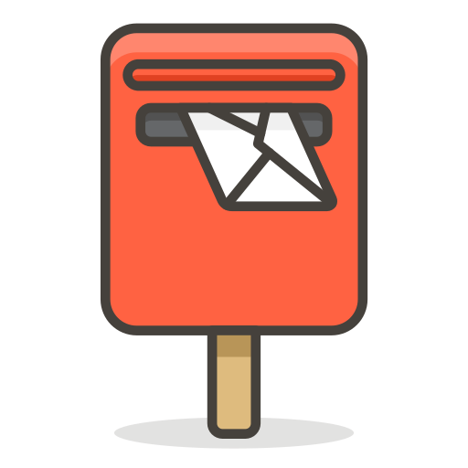 Postbox Icon Free of 780 Free Vector Emoji.