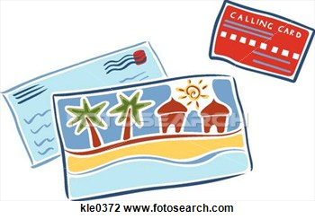 Post card clipart - Clipground
