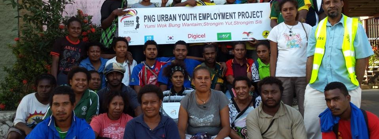 Project gives 18,500 youth job opportunities.