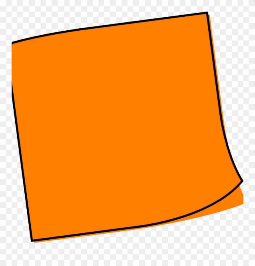 Post It Clipart Large.