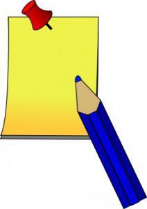 Post It Clip Art Download.