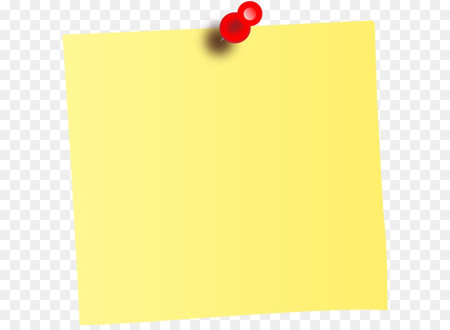 Post It Note Clipart Png.