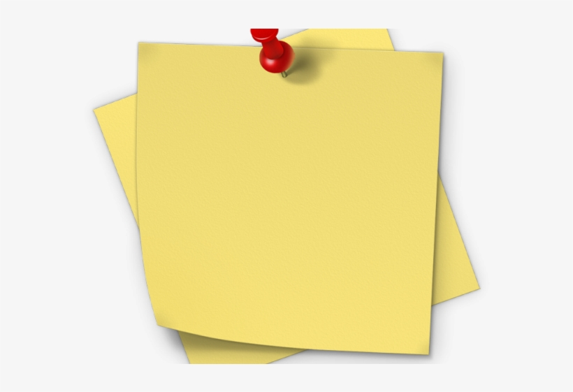 Post It Clipart Piece Paper.