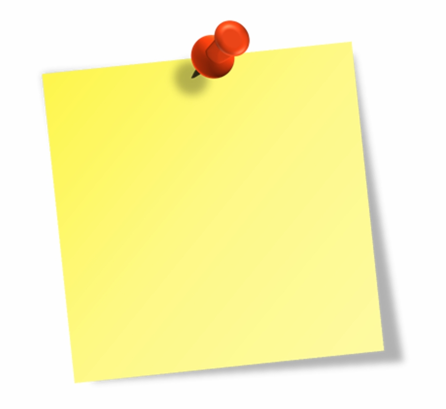 Sticky Notes Clipart Png Free PNG Images & Clipart Download.