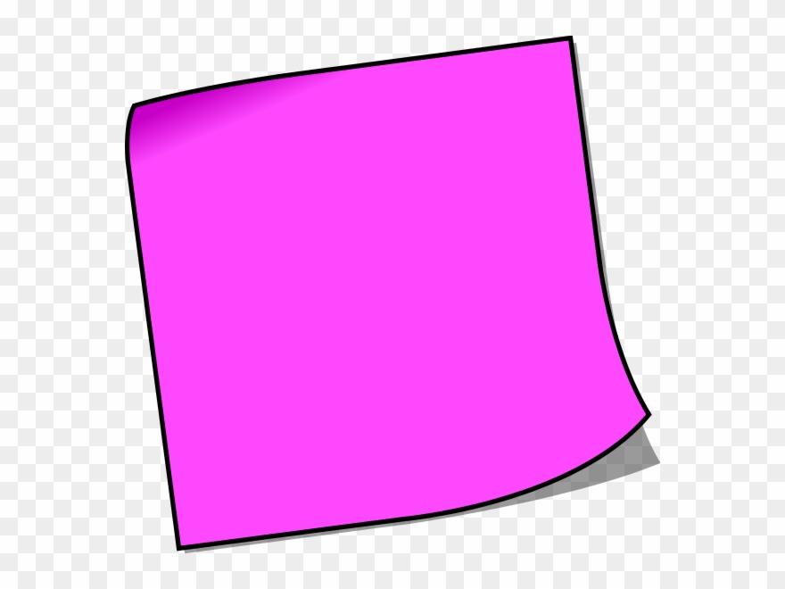 Blank Sticky Note.