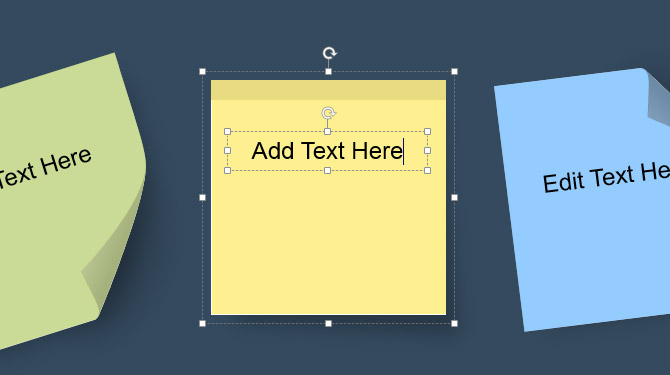 How To Add Custom Sticky Notes to PowerPoint Presentations.