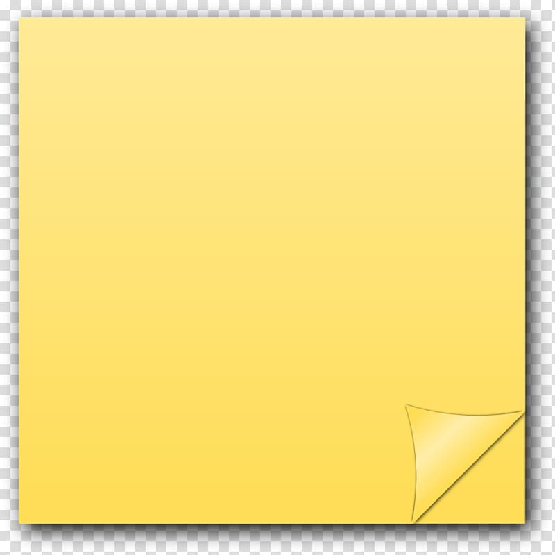 Yellow note paper , Post.