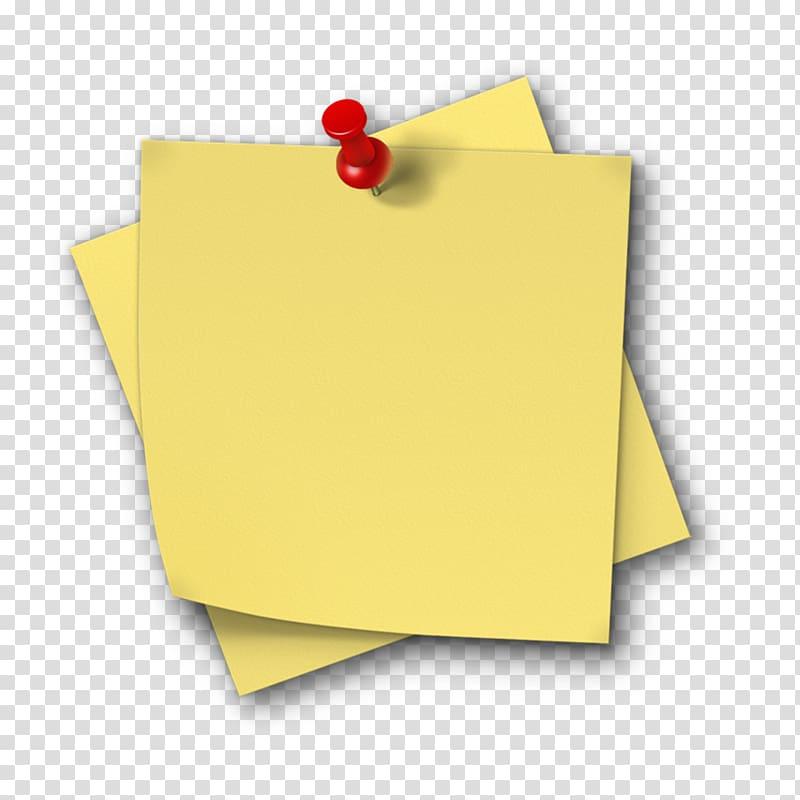 Empty sticky notes, Post.