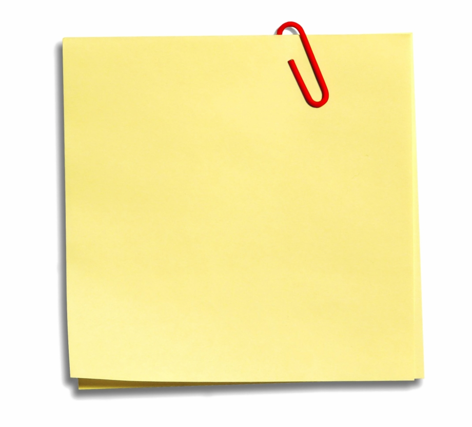 Sticky Notes Png.