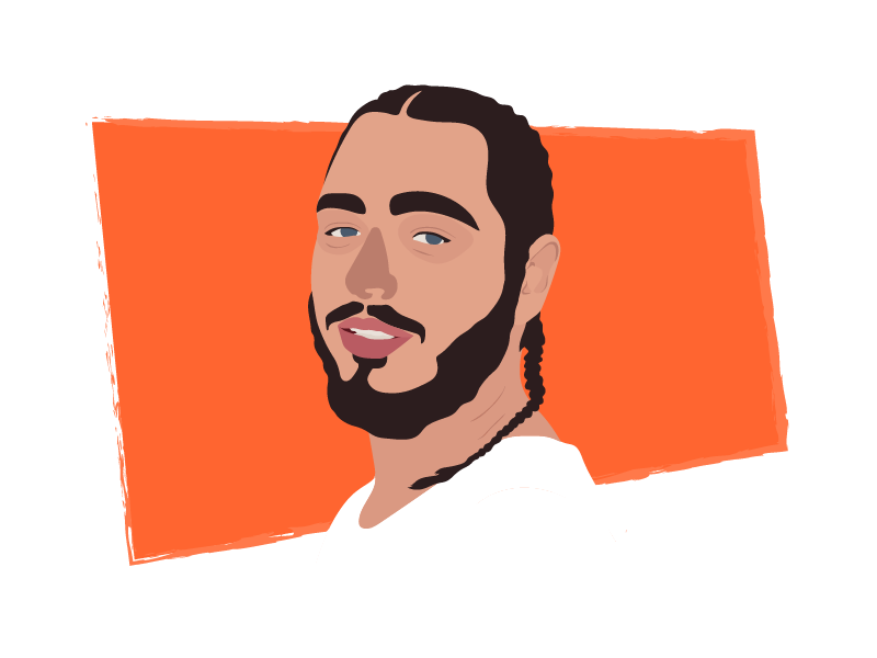 Post Malone Png (98+ images in Collection) Page 1.