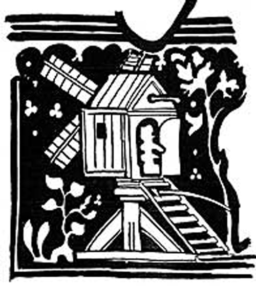 Akholte (Ackholt or Acol) windmill..